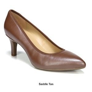 Naturalizer Oden Classic Pumps Saddle Tan size 8